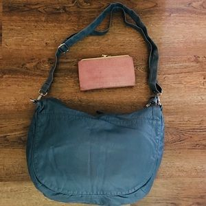 Mudd Bags - 💙Gorgeous Blue Hobo & Pink Wallet💓